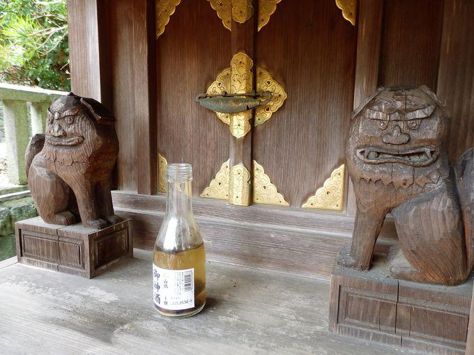ユーモラスでかわいい!武烈天皇社の狛犬