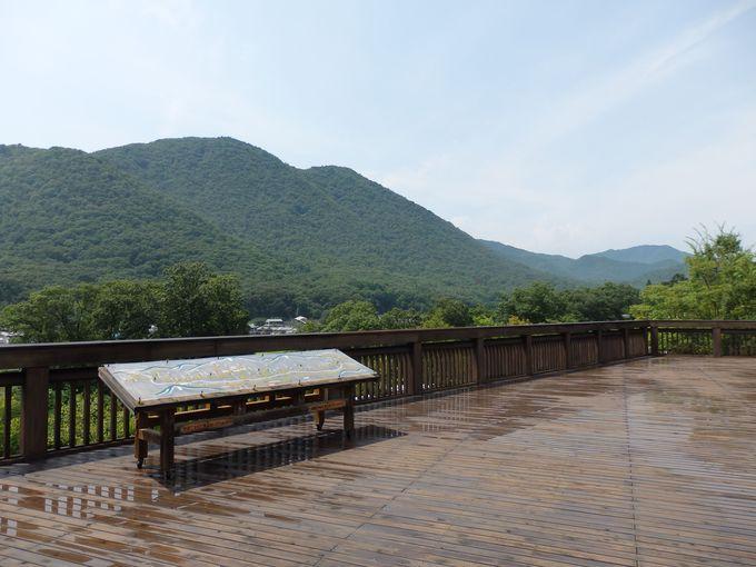 丹波焼の故郷・立杭地区を一望のもとに!兵庫陶芸美術館からの眺め