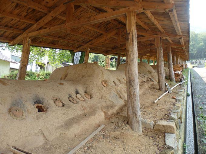 現存する地区最古の窯