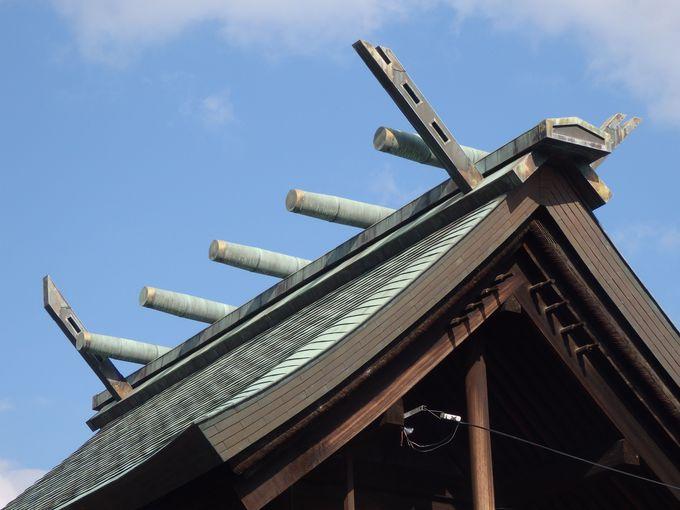伊勢神宮との深い結びつきを示す本殿の構造