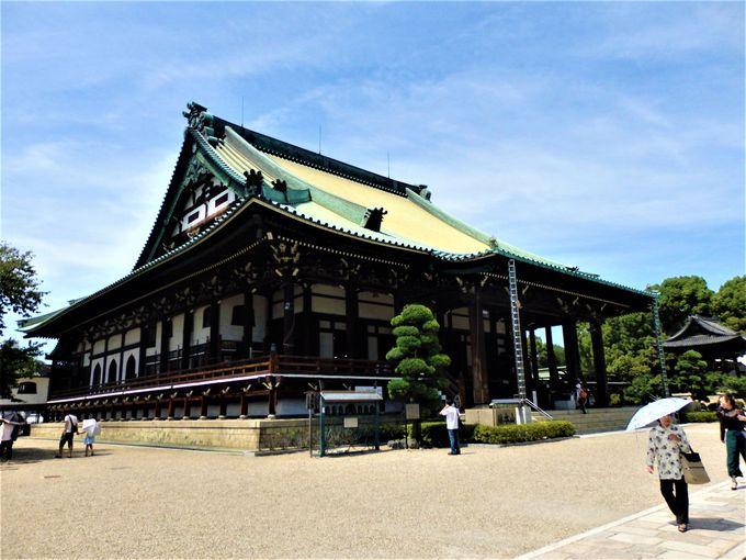 大阪府下最大の木造建造物を有する大念佛寺