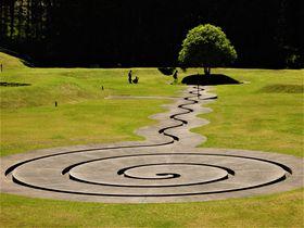 謎の地上絵?奈良の山中に出現した「室生山上公園芸術の森」