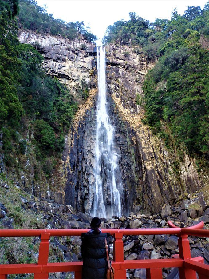 ご神体の那智の滝