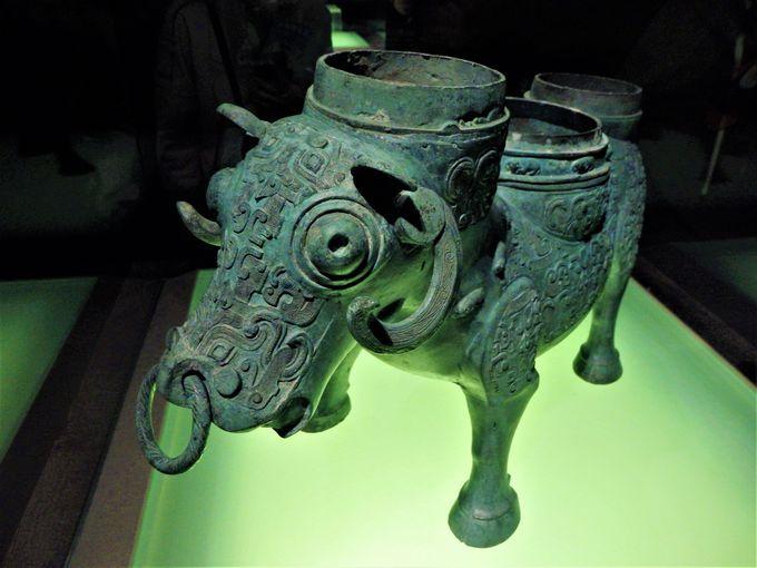 必見!世界屈指の逸品を揃える「中国古代青銅館」