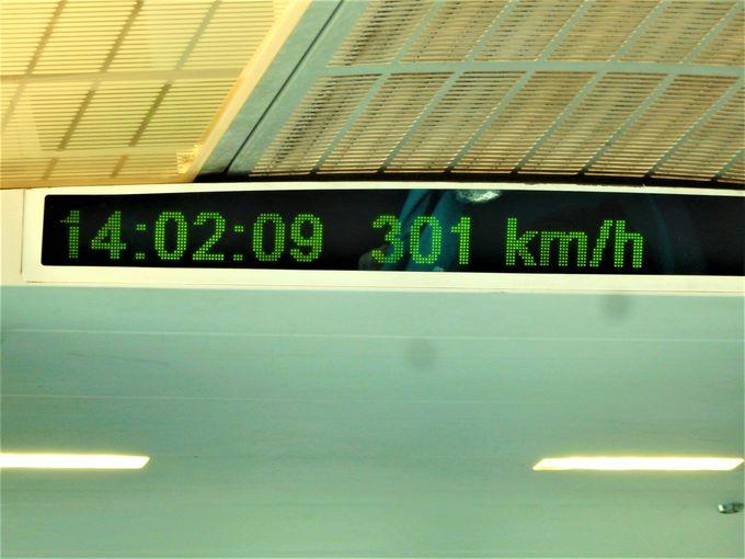 世界最速を実感しよう!走行中の車内