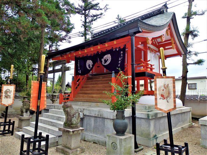 大蛇伝説を残す奈良市の倭文神社