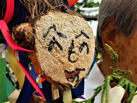 へのへのもへじが人身御供!?奈良市・倭文神社「蛇祭り」