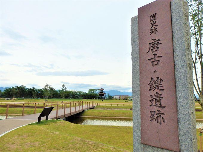 2018年にオープンした「唐古・鍵遺跡史跡公園」