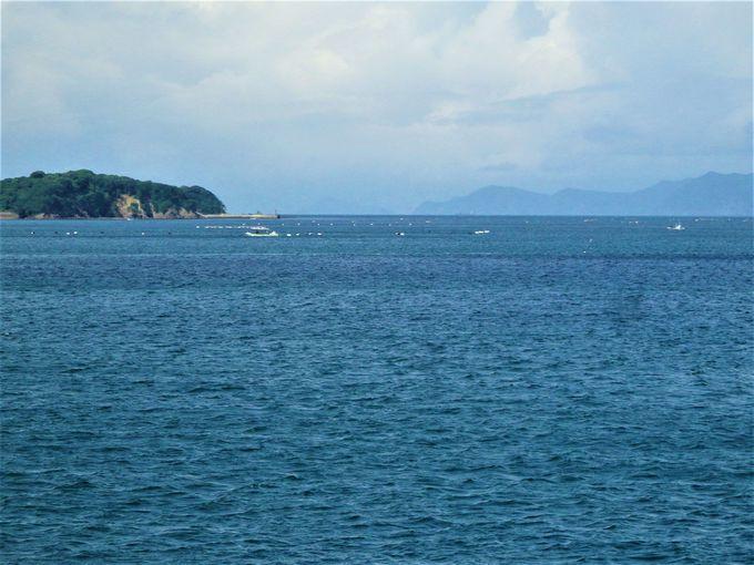 あご湾ならではの景色の数々