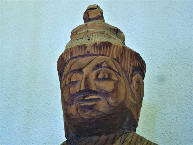 最初期の作例とされる護法神像と金剛童子像