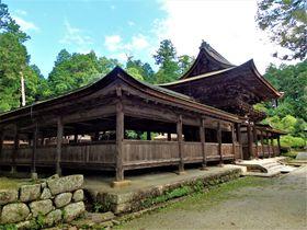 美しい廻廊付きの楼門!ロケ地として有名な滋賀県「油日神社」