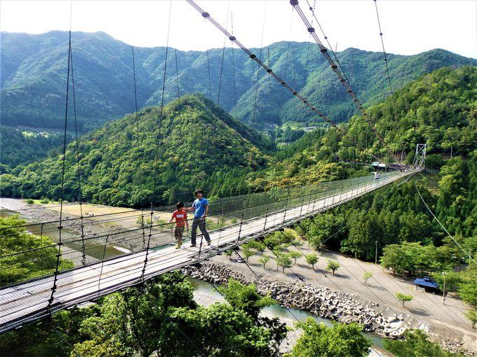 9.谷瀬の吊り橋/十津川村