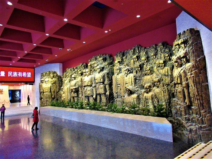 日本の要人も訪れる中国人民抗日戦争紀念館
