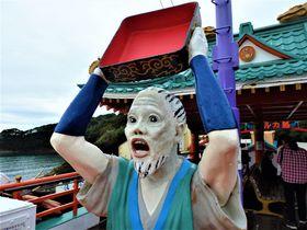 この衝撃の表情は!?三重県・鳥羽湾の観光遊覧船「龍宮城」