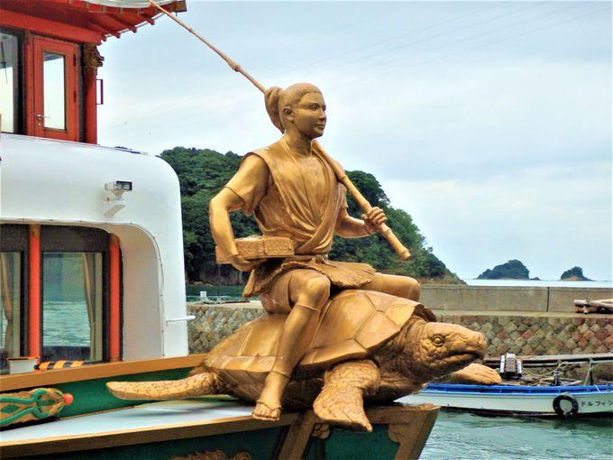 鳥羽湾めぐりの観光遊覧船「龍宮城」