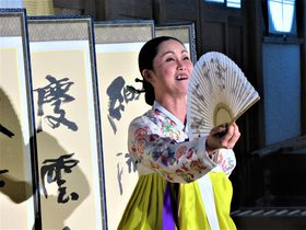 京都の古刹でパンソリを!「安聖民パンソリの世界in浄住寺」