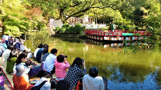 11月3日の文化の日におこなわれる「文化の日萬葉雅楽会」