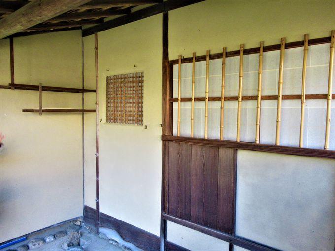 興福寺から移設された「八窓庵」
