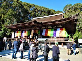 国宝・本堂の堂内拝観も可能!正月は奈良市の長弓寺へ初詣