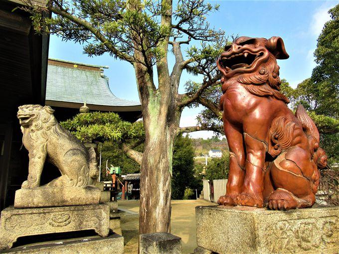二つの本殿を有する下津井地区の「祇園神社」