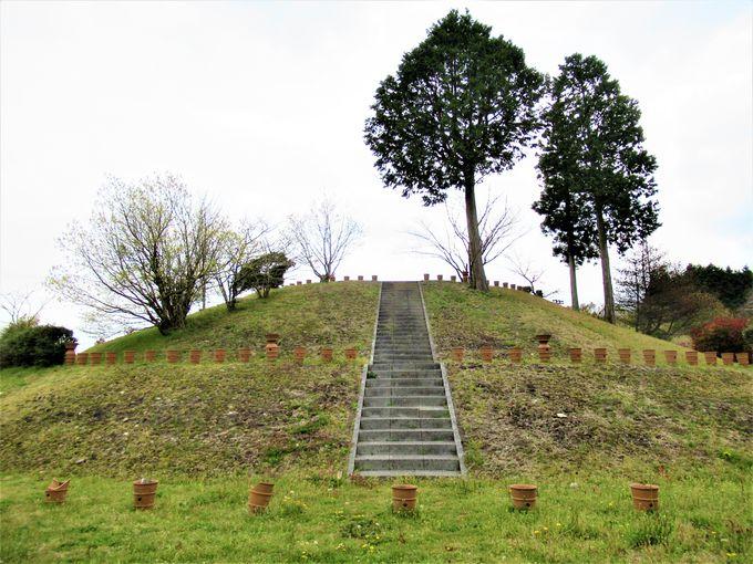 大和高原最大の大型前方後円墳「三陵墓東古墳」