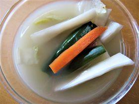 冷麺にも使える!「水キムチ」を作って韓国旅行気分を盛りあげよう