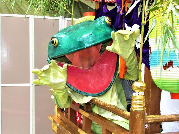 蛙がピョンピョン!?奈良県・金峯山寺の「蓮華会・蛙飛び行事」
