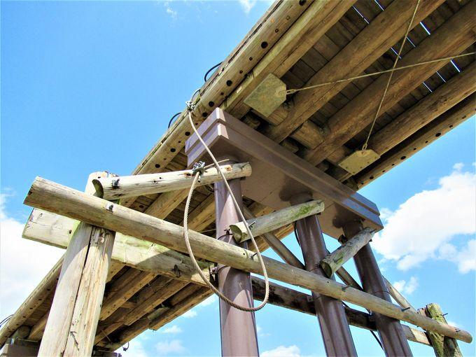 流されても流されない!?「流れ橋」の独特の構造