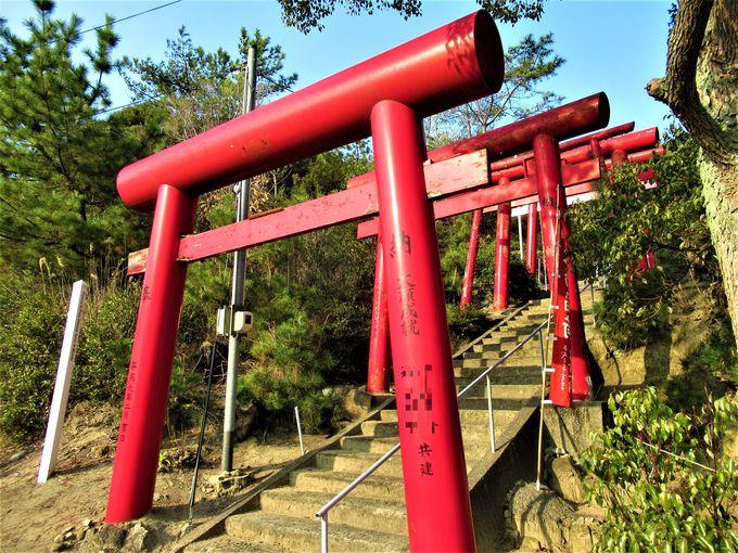 「千本鳥居」を連想させる穴場稲荷神社の鳥居群