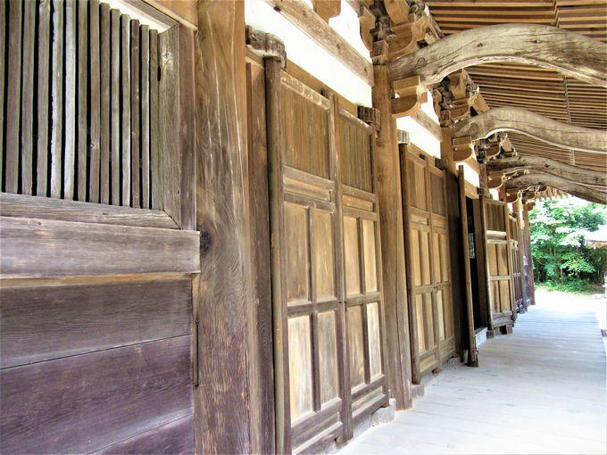折衷様式の仏堂を観察しよう!国宝・本堂の外まわり