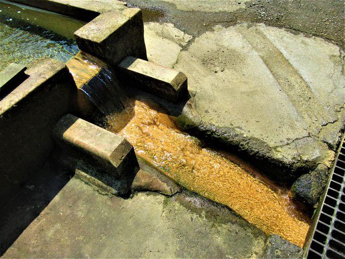 集落内に湧く冷鉱泉「世継のかなぼう」