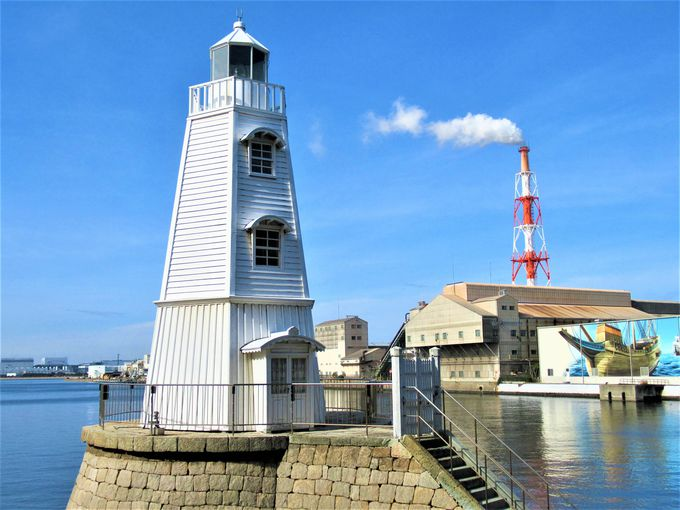 現存する日本最古の木製洋式燈台!旧堺燈台