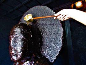 油でギトギト!ベタベタ!テカテカ!奈良市古市町「油掛地蔵尊」
