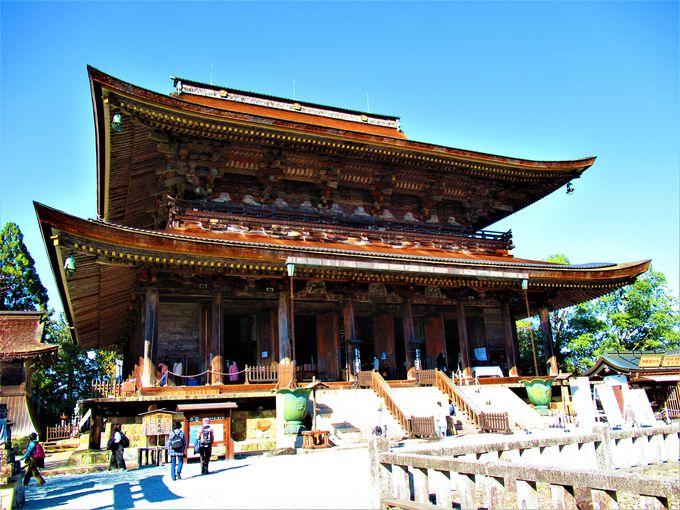 巨大な蔵王権現立像は必見!世界遺産・金峯山寺蔵王堂