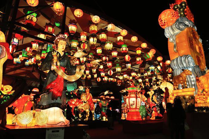 10,000個超のランタン!冬を彩る一大風物詩「長崎ランタンフェスティバル」(長崎)