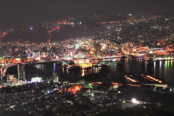 長崎の夜景と云えば、まずは王道・稲佐山!