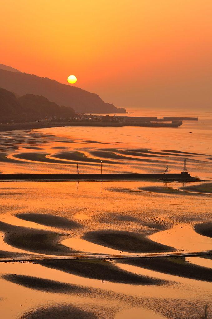 絶景の御輿来海岸(おこしきかいがん)を見るにはこの日に行くべし!