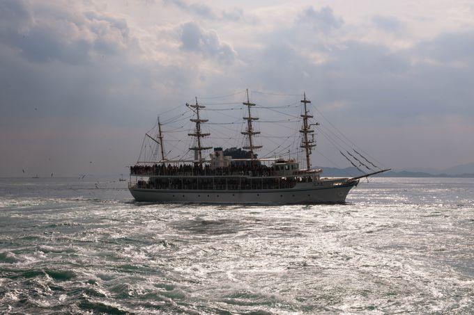 最強の渦潮はやはり「わんだーなると観潮船」で見たい!