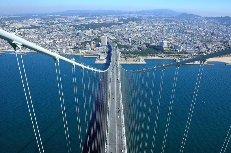 海上300mの究極の世界!「明石海峡大橋ブリッジワールドツアー」