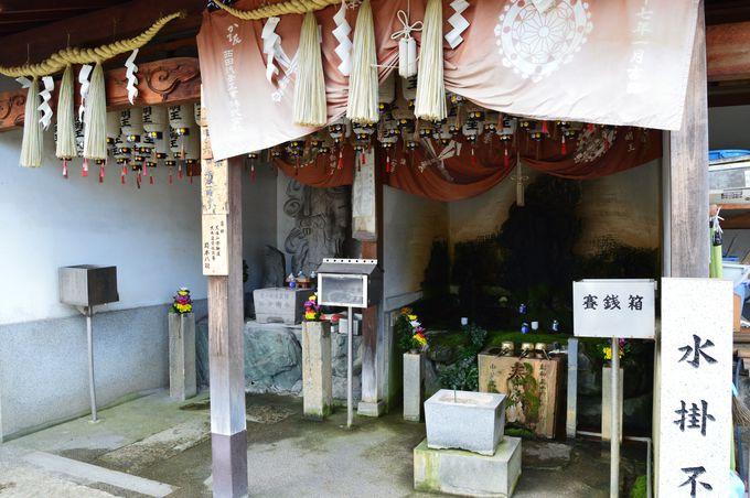 船の旅路を守る船待神社(御陵前駅)