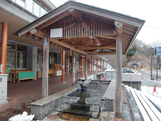 「道の駅 湯西川」では食事も休憩も温泉も楽しめる!