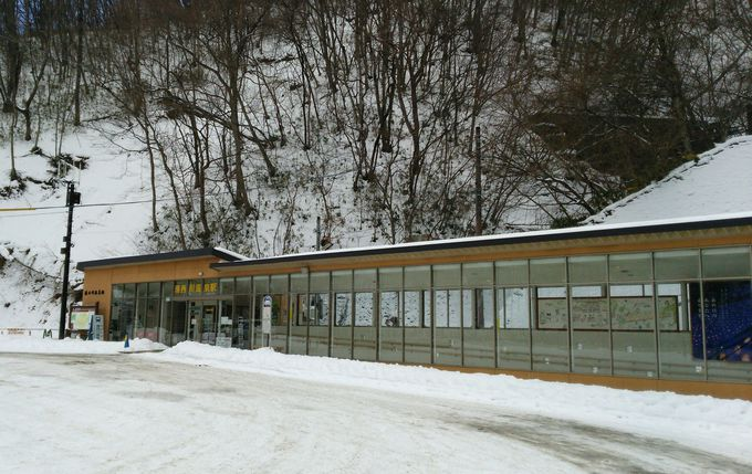 トンネル駅「湯西川温泉駅」のその先は