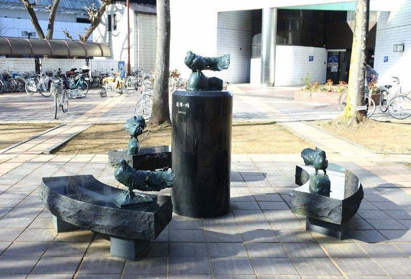 春日部駅東口側はアートの宝庫!