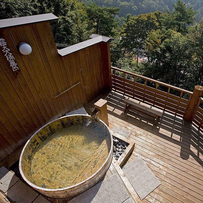 浮島風呂で疲労回復入浴法を!露天風呂派も「常盤館」雲の助でOK!