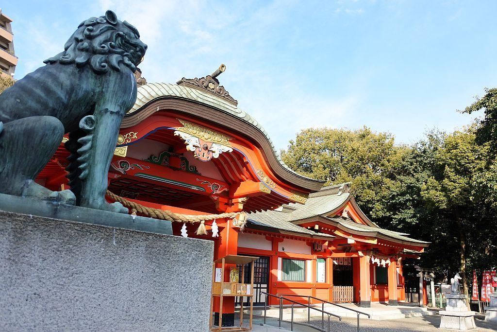 古来から金運招福・商売繁盛の神様といわれる金神社