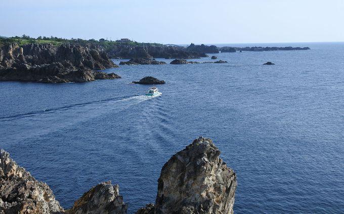 尖閣湾で絶景堪能、海中透視船にも乗りたい!