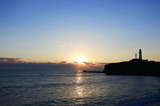 3.「犬吠埼」から初日の出を鑑賞
