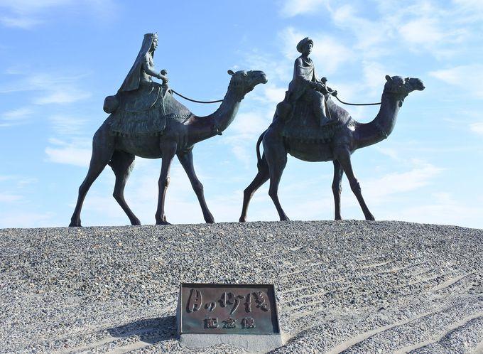 月の沙漠記念像も必見!「かつうらビッグひな祭り」との連携も