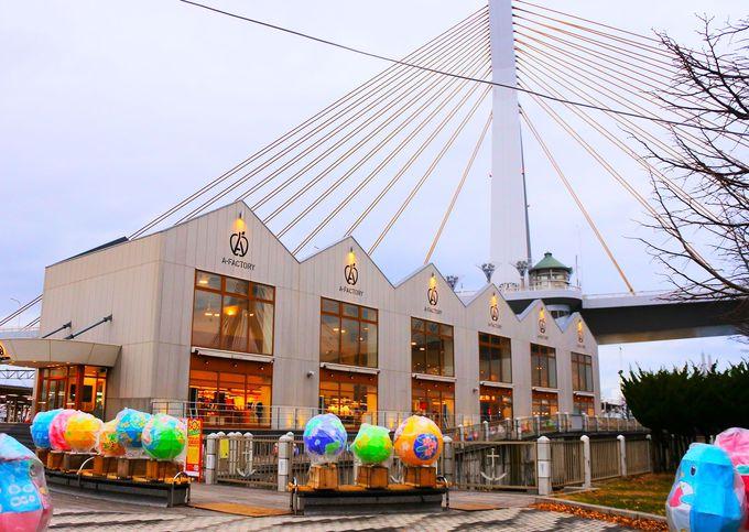 青森駅前だから、雨も雪も問題なし!