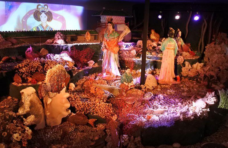 竜宮城にパワスポまで!?愛知「竹島ファンタジー館」の貝殻アートが凄い